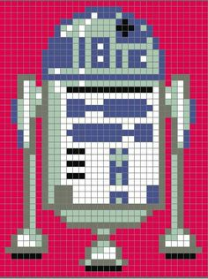 Star Wars Quilt Pattern free star wars pixel quilt pattern the bored zombie Crochet Pixel, Star Wars Crochet, Crochet Stars, Star Wars Quilt, Cross Stitching, Cross Stitch Embroidery, Cross Stitch Patterns, Star Wars Crafts, Pixel Pattern