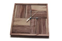 Recycled Pallet Wood Wall Clock Rustic Wall Clock by RayMels
