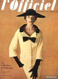 Jacques Fath (Couture) 1953 Tailleur, Philippe Pottier