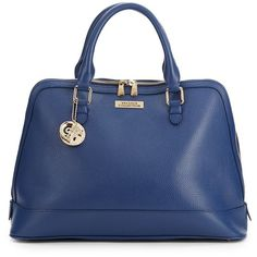 Versace Pre-owned - Blue Leather Handbag e5NXD560