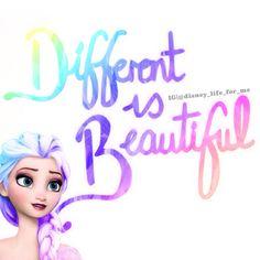Frozen~different Elsa