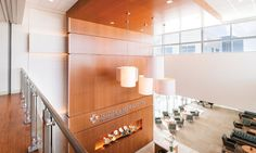 David Edward Lolita Series: The main reception area reflects inviting, light-filled spaces.