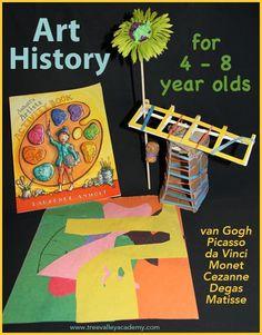 1000 images about homeschool art on pinterest leaf for Da matisse a monet