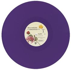 "Prince, Purple Rain - Purple Vinyl/Gold, 12"" vinyl single"