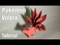 Origami - How to make an origami dragon - intermediate level - YouTube
