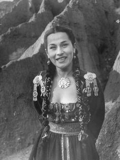 Vintage style icon, Yma Sumac