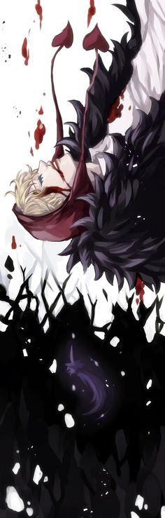 Black feathers - Donquixote Rocinante (Corazon) (Corasan, Cora-san) One Piece