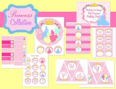 Planning a Princess Birthday Party Pink Princess Party, Disney Princess Birthday Party, Cinderella Party, First Birthday Parties, Birthday Party Themes, Girl Birthday, First Birthdays, Birthday Ideas, Bridal Shower Party