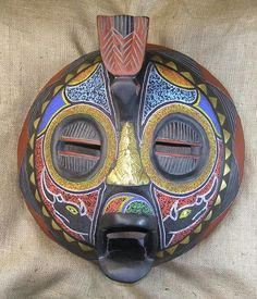 African Masks - Baluba Mask