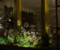 Escaparate con velas  ...Quién se apunta a la decoración poética??