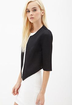 Cropped Mesh Net Jacket | FOREVER21; I have every expectation that I'd look ridiculous in this jacket. I LOVE IT.