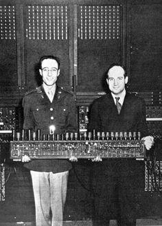 La primera computadora de la historia.