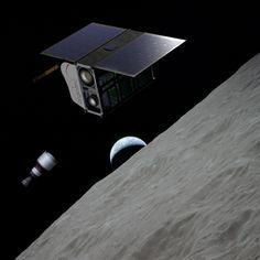 ArgoMoon, un nano satellite italiano. Nel 2018 verrà lanciato oltre l'orbita lunare dallo Space Launch System (SLS)