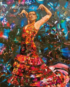 @PinkFloyd Collage / Pink Floyd Art, Art, Giclee Print or Poster – multymedia    My tribute to Pink Floyd. Made from 100's of ripped up pictures of @Pink Floyd. I based this image on what Pink Floyds music meant to me, trying to capture the mystery, power and intrigue that it evokes.