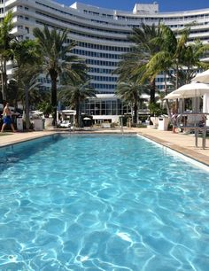 What are you waiting for? Make a splash! #Fontainebleau