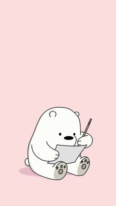 Wallpaper of the day We Bare Bears Wallpapers, Panda Wallpapers, Cute Cartoon Wallpapers, Bear Wallpaper, Kawaii Wallpaper, Girl Wallpaper, Screen Wallpaper, Cute Wallpaper Backgrounds, Wallpaper Iphone Cute