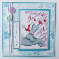 Baby by SuzyRDesigns Baby's First Christmas Card, Babys 1st Christmas, Baby Elephant, Pictures, Etsy, Photos, Baby Elephants, Drawings