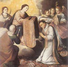 Investidura de San Ildefonso - Gregorio Vasquez de Arce y Ceballos
