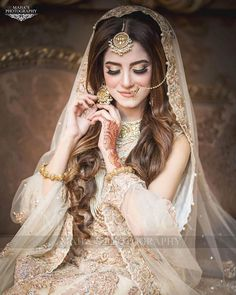 Stunning nikah bride 👰 Makeup line:   To book your appointments call us at : Address: Main PWD Double Road, Islamabad. Pakistani Bridal Hairstyles, Pakistani Bridal Makeup, Bridal Mehndi Dresses, Bridal Dress Design, Pakistani Wedding Dresses, Bridal Outfits, Bridal Lehenga, Indian Bridal, Latest Bridal Dresses
