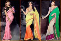 New Bollywood Saree Collection  By Jacqueline Fernandez of 2015