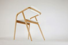 'R2' maple and plywood chair designed by Diach SEO