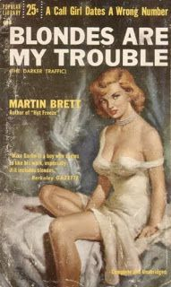 Popular Library 695 Martin Brett Cover art by Owen Kampen It's always a pleasure to welcome Canadian pulp into my collection. Pulp Fiction Art, Crime Fiction, Pulp Art, Fiction Novels, Pulp Magazine, Book And Magazine, Magazine Art, Magazine Covers, Roman