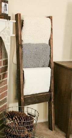 Blanket ladder!