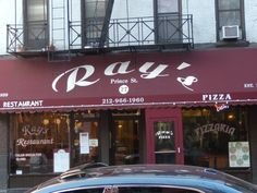 ray's pizza: New York City, New York their specialty is  Ray's Original traditional thin-crust pizza