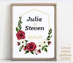 Elephant Cross Stitch, Cross Stitch Art, Cross Stitching, Cross Stitch Embroidery, Wedding Cross Stitch Patterns, Modern Cross Stitch Patterns, Alphabet And Numbers, Wedding Gifts, Pattern Design