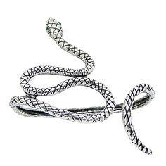 pulseira padrão cobra liga vintage (cor aleatória) – USD $ 4.99