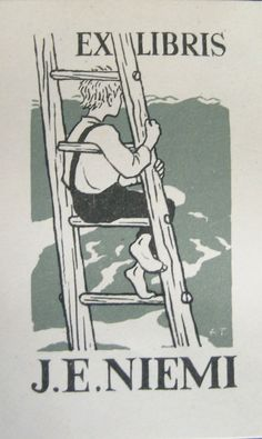 J.E. Niemi's ex libris
