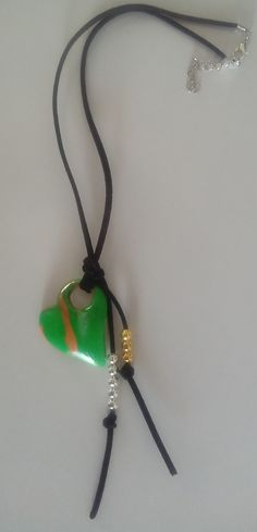 (219)11+++ Collar Verde, Washer Necklace, Pendant Necklace, Jewelry, Art Gallery, Necklaces, Fashion, Fimo, Young Fashion