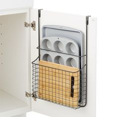 Put every inch of kitchen storage space to use with our Over-the-Cabinet Grid Or. - Put every inch of kitchen storage space to use with our Over-the-Cabinet Grid Organizer. Diy Kitchen Storage, Kitchen Cabinet Organization, Diy Storage, Storage Spaces, Cabinet Ideas, Storage Cabinets, Storage Ideas, Storage Solutions, Kitchen Organizers