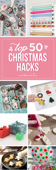 27 Christmas Hacks - tips and tricks  that will make your life easier during the…