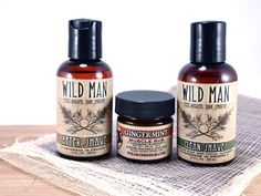Shaving Gift Basket Men's SHAVING Soap After by WildRoseHerbs, for my man