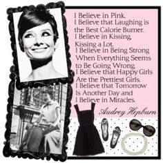Love her style and this quote