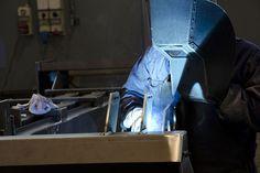 lavorazione di saldatura manuale certificata ISO-3834 EN-1090 eseguita da personale qualificato