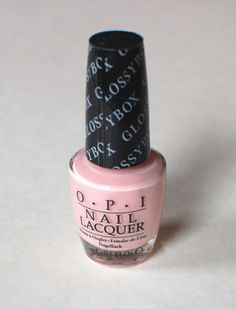 OPI Nail Lacquer in Pink Outside the Glossybox BN $4