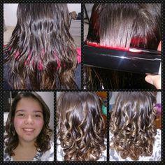 Transformação Mariana #shinemol #cristallohair #cachos visite www.facebook.com/cristallohair