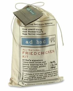 ad hoc fried chicken kit williams sonoma mmmmmmmmmm fried chaken dag ...