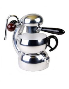 Atomic stove top coffee maker