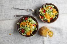 Easy recipe for Japanese Restaurant Salad Dressing - that addictive dressing you want to pour over everything at the restaurant, and now can make yourself!