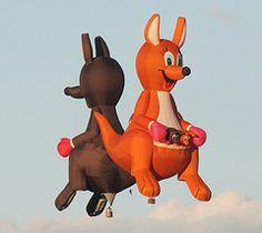 Roos at the Albuquerque International Balloon Fiesta, 2010 by cjc4454