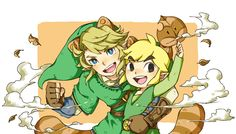 The Legend of Zelda: Twilight Princess and Wind Waker / Link / 「ドロン!!」/「グッピー@新作ゲーム待機」の漫画 [pixiv]