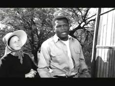 A cool tribute to the film Lilies of the Field, starring Sidney Poitier and Lilia Skala (1963)