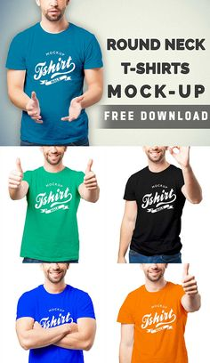 99+ Best Free T-Shirt Mockup PSD Templates | Graphiceat
