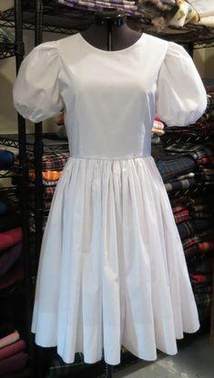 Blouses and Underskirts - Karen's Kilts & Highland Dance Costumes - white National dress