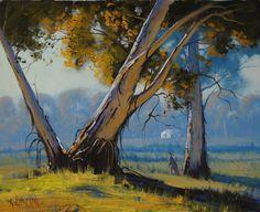 Kangaroo in the Australian Landscape by artsaus.deviantart.com on @deviantART