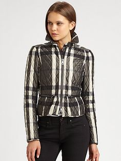 Burberry London - Barcroft Quilted Jacket - Saks.com