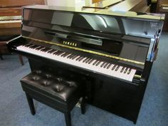 The Yamaha piano Sales make offering of the piano simple, fast and helpful for all music sweethearts. We comprehend the adoration you have for music, and we would effectively enable you to improve the affection and enthusiasm that you have. Second Hand Piano, Happy Piano, Yamaha Piano, Yamaha Keyboard, Yamaha Corporation, Piano For Sale, Best Piano, Upright Piano, Pianos